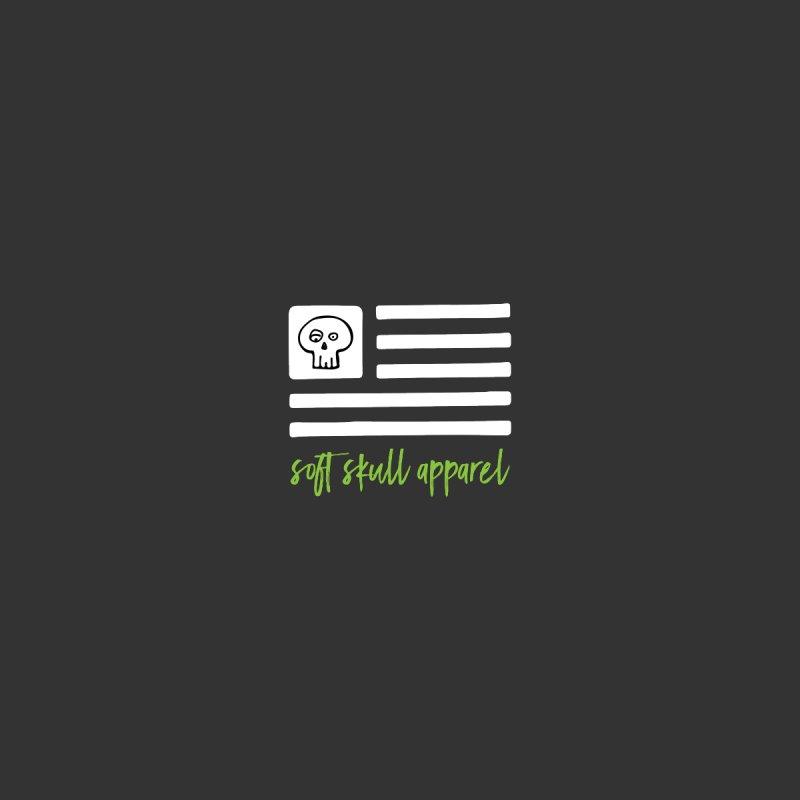 Soft Skull Flag (In White) by iamthepod's Artist Shop