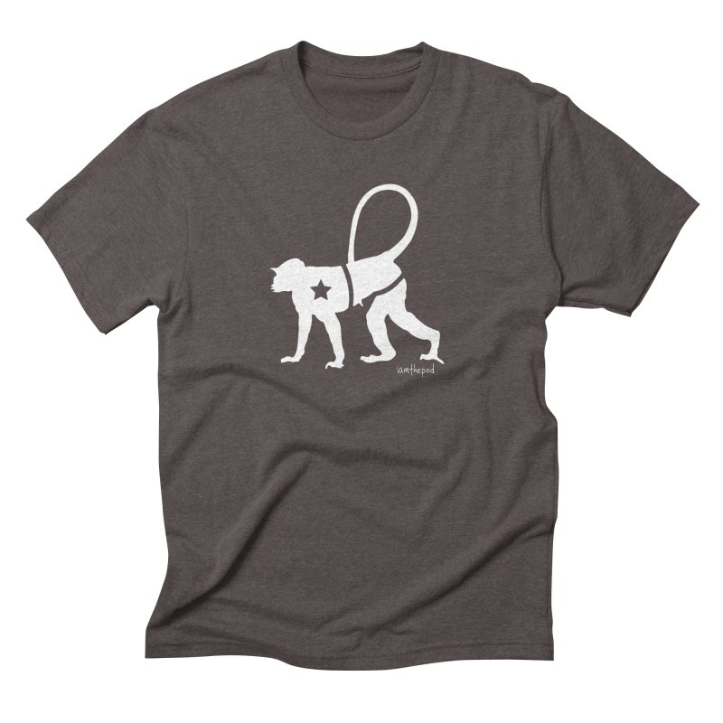 The Disconnected Kingdom: Monkey in Men's Triblend T-Shirt Tri-Coffee by iamthepod's Artist Shop