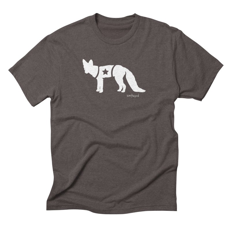 The Disconnected Kingdom: Fox in Men's Triblend T-Shirt Tri-Coffee by iamthepod's Artist Shop