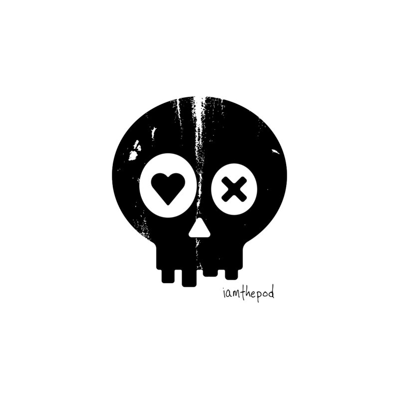 PunchDrunkLoveSkull (In Black) by iamthepod's Artist Shop