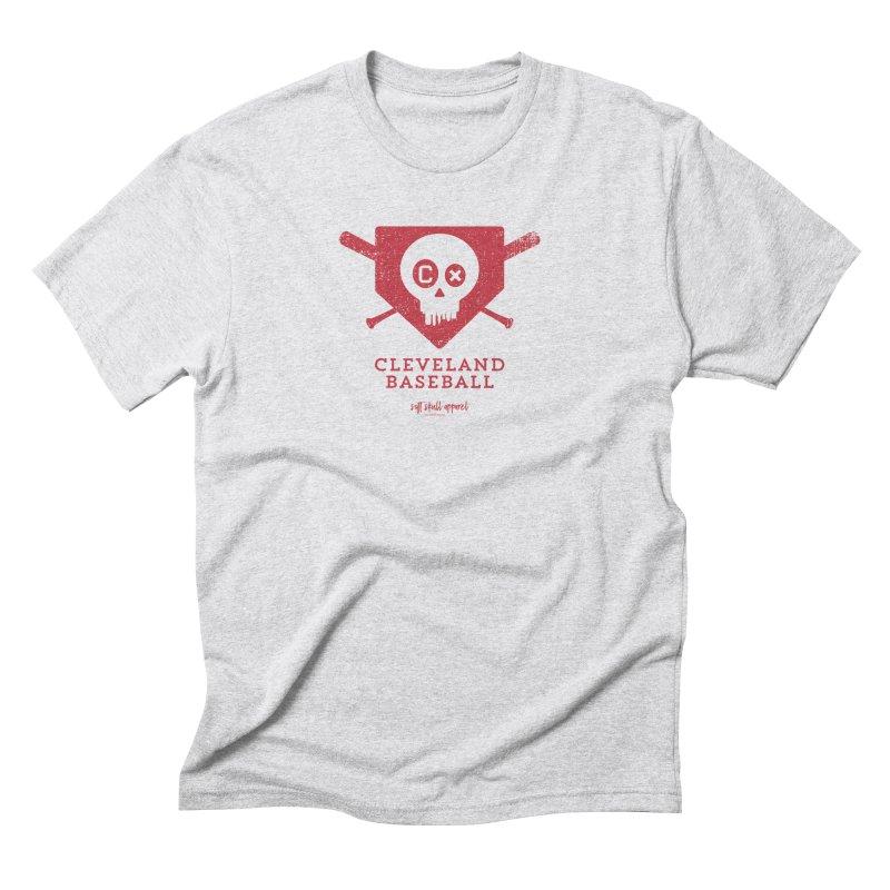 Cleveland Baseball - Red Men's T-Shirt by iamthepod's Artist Shop