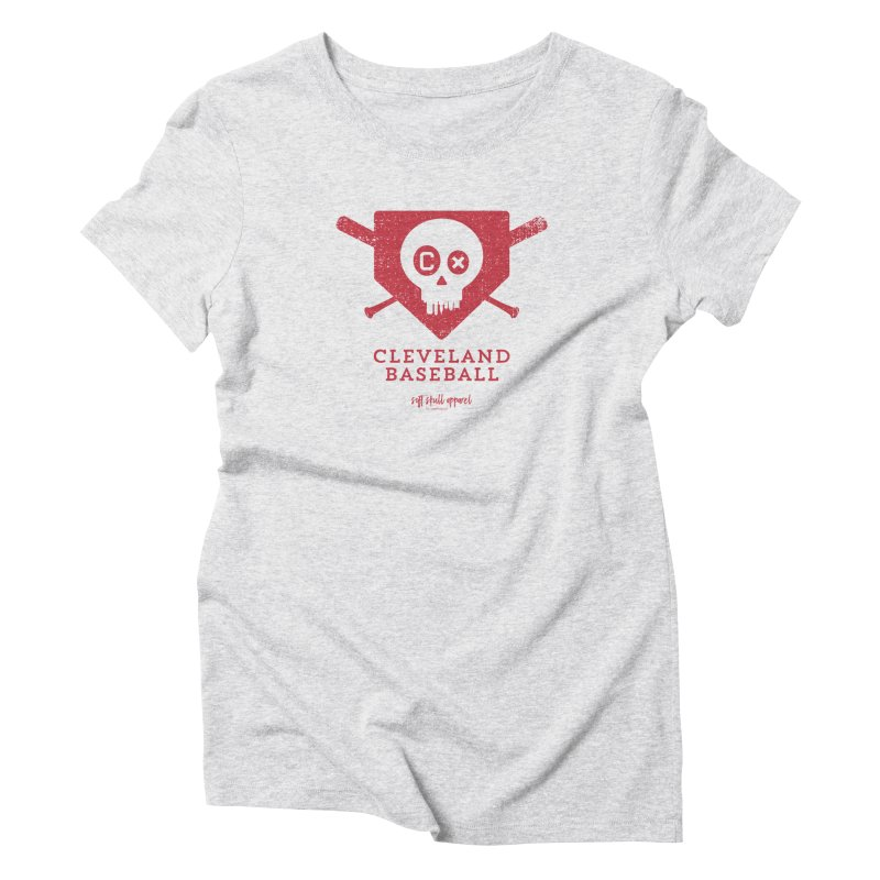 Cleveland Baseball - Red Women's T-Shirt by iamthepod's Artist Shop