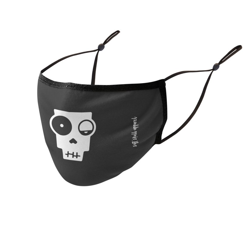 Soft Skull Zombie One Accessories Face Mask by iamthepod's Artist Shop