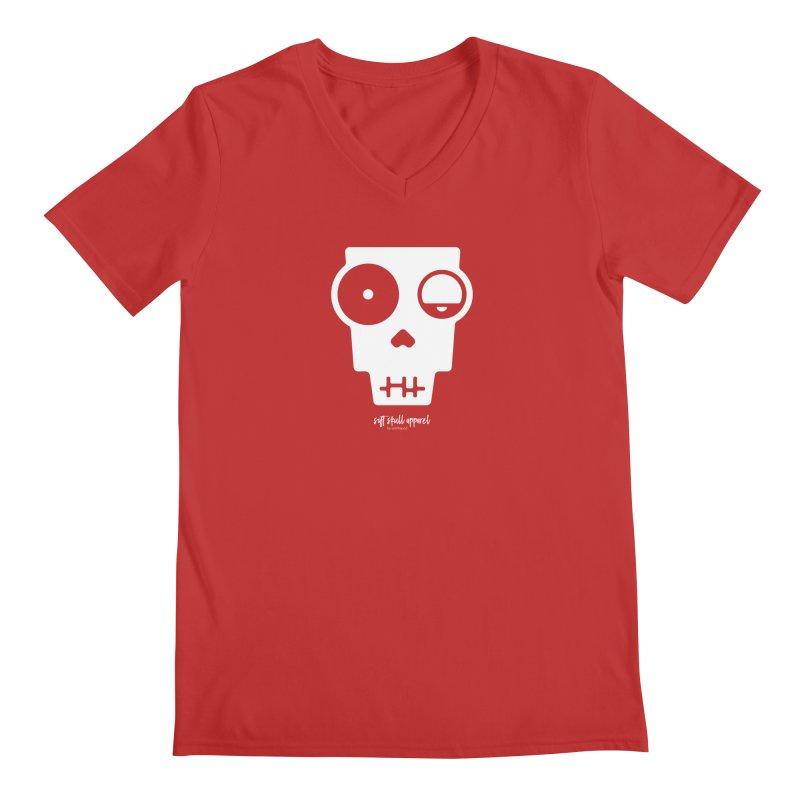 Soft Skull Zombie One Men's V-Neck by iamthepod's Artist Shop