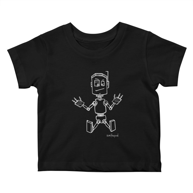 Tin Boy Kids Baby T-Shirt by iamthepod's Artist Shop