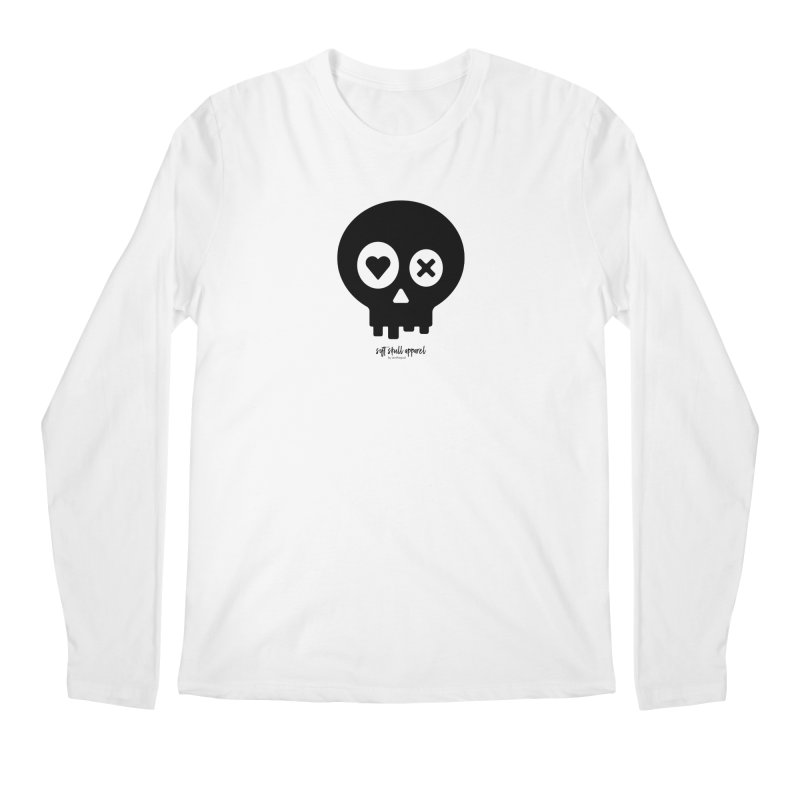 Punch Drunk Love Skull - Clean - In Black Men's Regular Longsleeve T-Shirt by iamthepod's Artist Shop