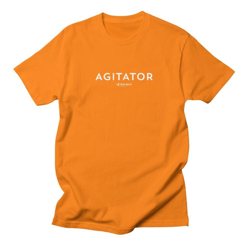 Agitator Men's Regular T-Shirt by iamthepod's Artist Shop