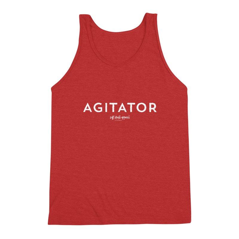 Agitator Men's Triblend Tank by iamthepod's Artist Shop