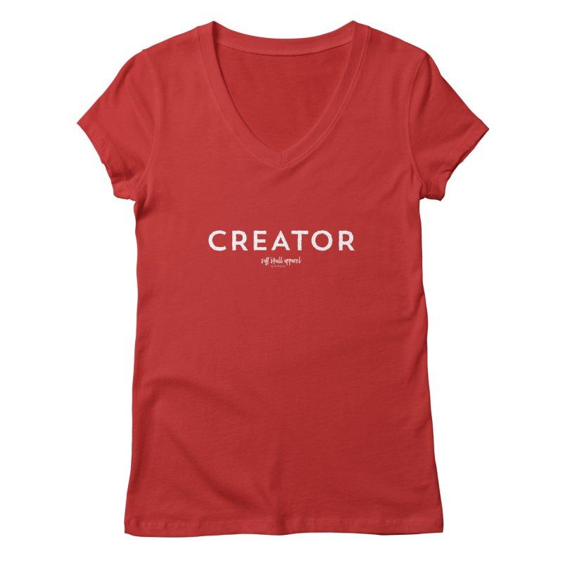 Creator Women's Regular V-Neck by iamthepod's Artist Shop