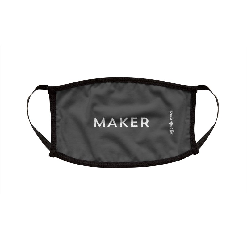 Maker Accessories Face Mask by iamthepod's Artist Shop