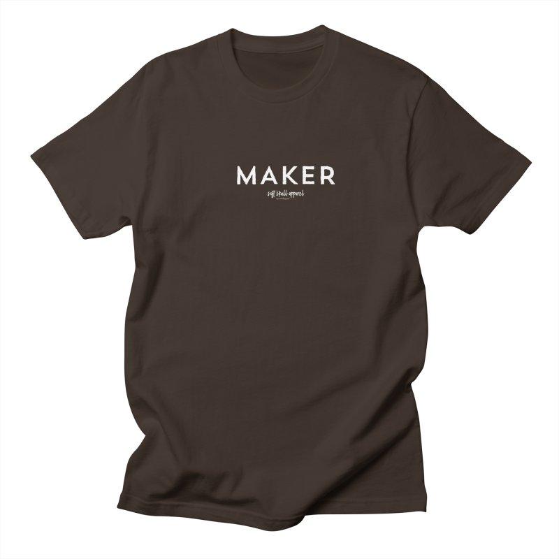 Maker Men's Regular T-Shirt by iamthepod's Artist Shop