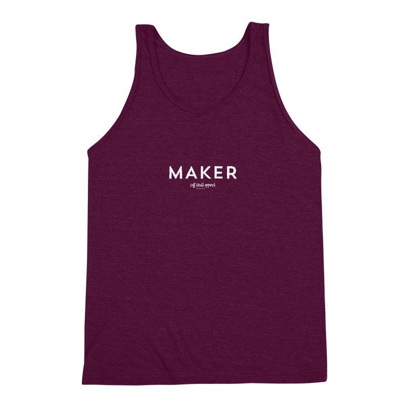 Maker Men's Triblend Tank by iamthepod's Artist Shop