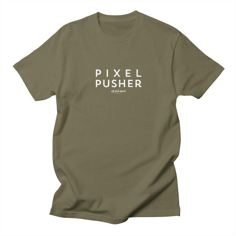 Pixel Pusher Men's Regular T-Shirt by iamthepod's Artist Shop