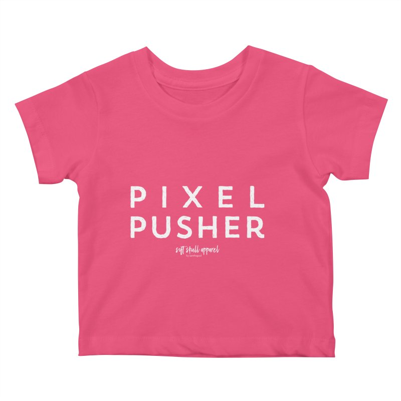 Pixel Pusher Kids Baby T-Shirt by iamthepod's Artist Shop
