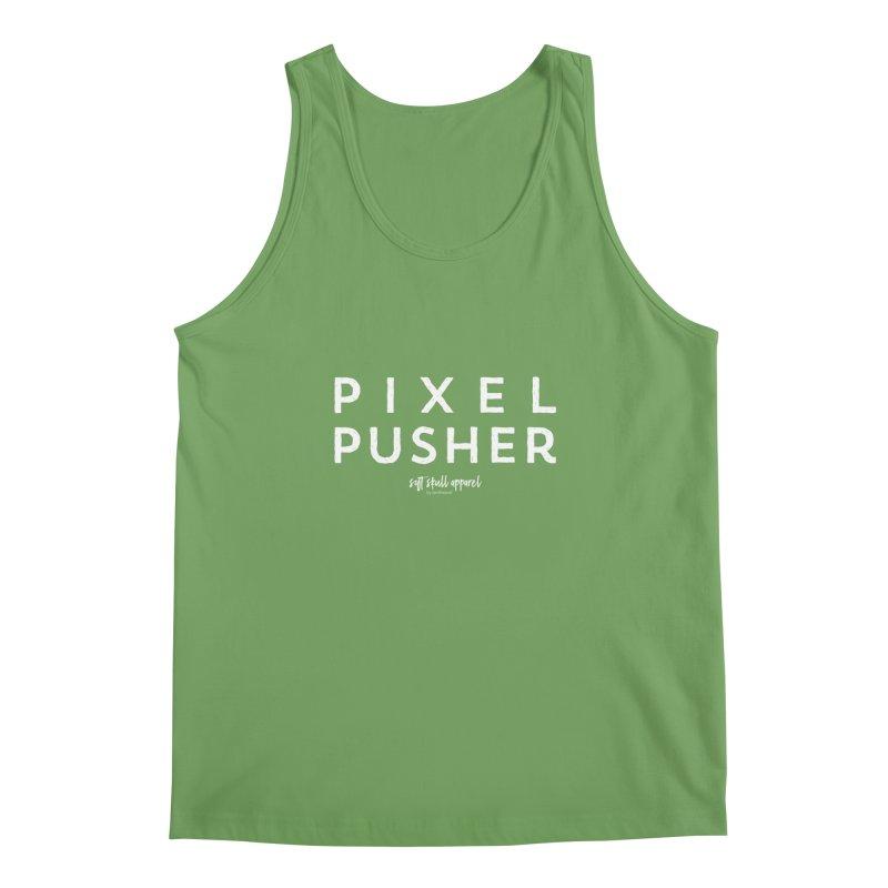 Pixel Pusher Men's Tank by iamthepod's Artist Shop