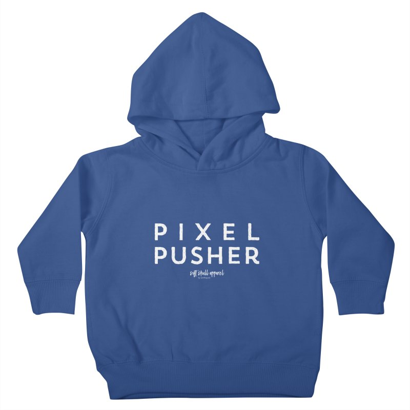 Pixel Pusher Kids Toddler Pullover Hoody by iamthepod's Artist Shop