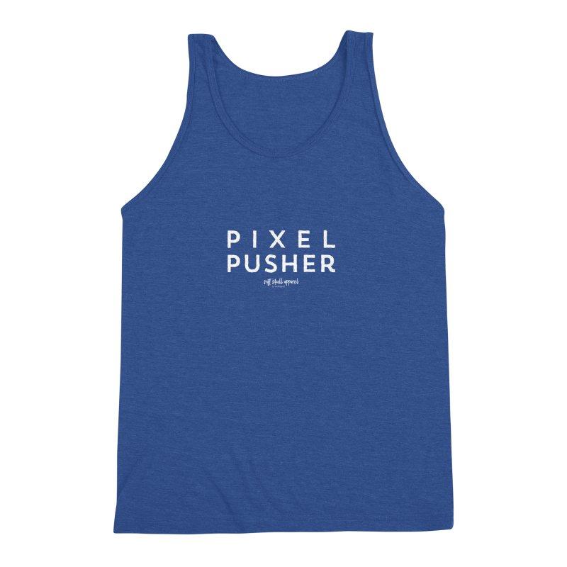 Pixel Pusher Men's Triblend Tank by iamthepod's Artist Shop