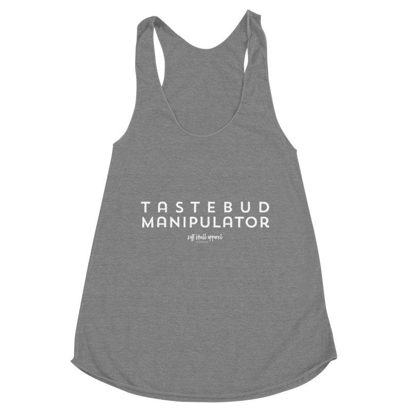 Tastebud Manipulator Women's Racerback Triblend Tank by iamthepod's Artist Shop