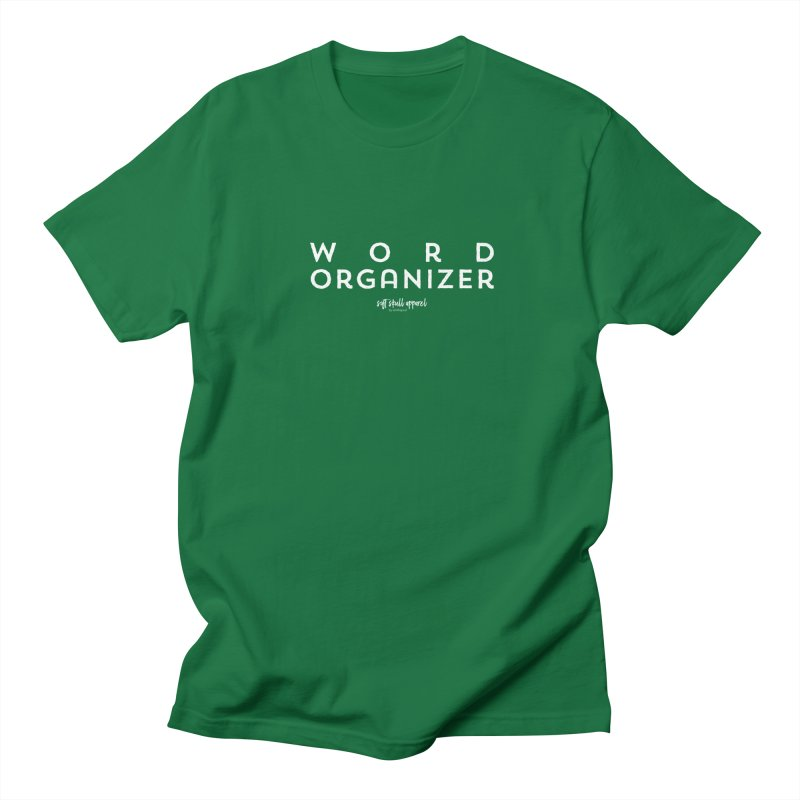Word Organizer Women's Regular Unisex T-Shirt by iamthepod's Artist Shop