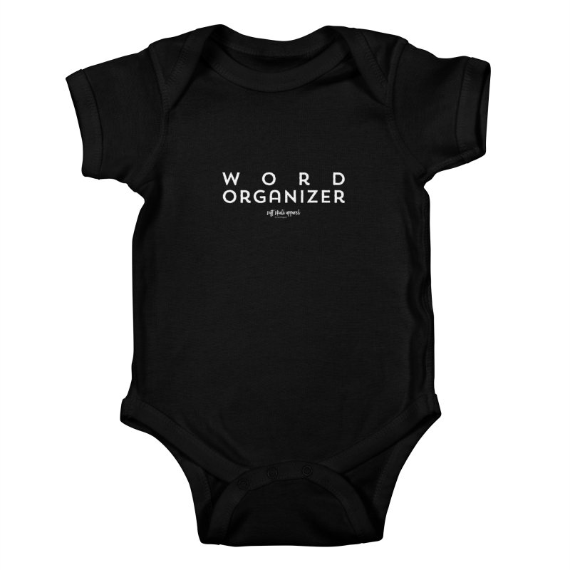 Word Organizer Kids Baby Bodysuit by iamthepod's Artist Shop