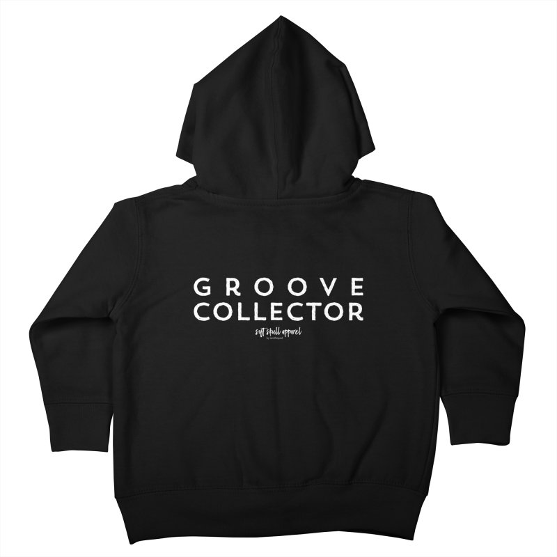 Groove Collector Kids Toddler Zip-Up Hoody by iamthepod's Artist Shop