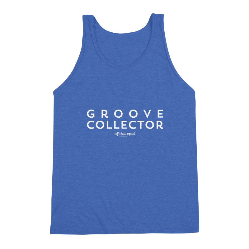Groove Collector Men's Triblend Tank by iamthepod's Artist Shop