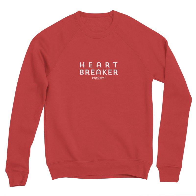 Heart Breaker Women's Sponge Fleece Sweatshirt by iamthepod's Artist Shop