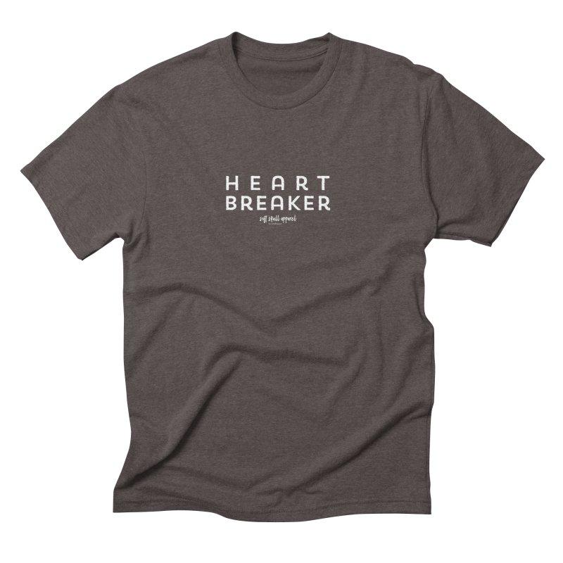 Heart Breaker Men's Triblend T-Shirt by iamthepod's Artist Shop