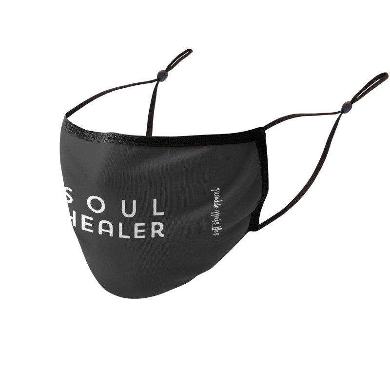 Soul Healer Accessories Face Mask by iamthepod's Artist Shop