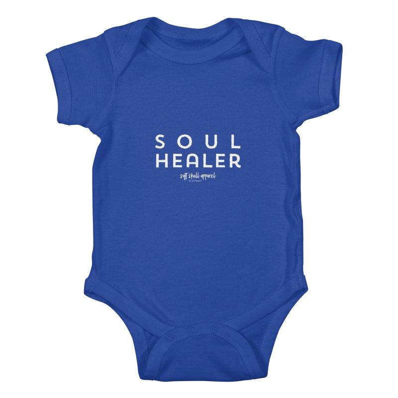 Soul Healer Kids Baby Bodysuit by iamthepod's Artist Shop