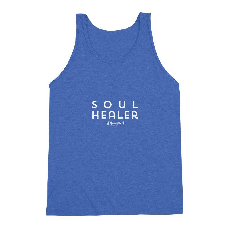 Soul Healer Men's Triblend Tank by iamthepod's Artist Shop