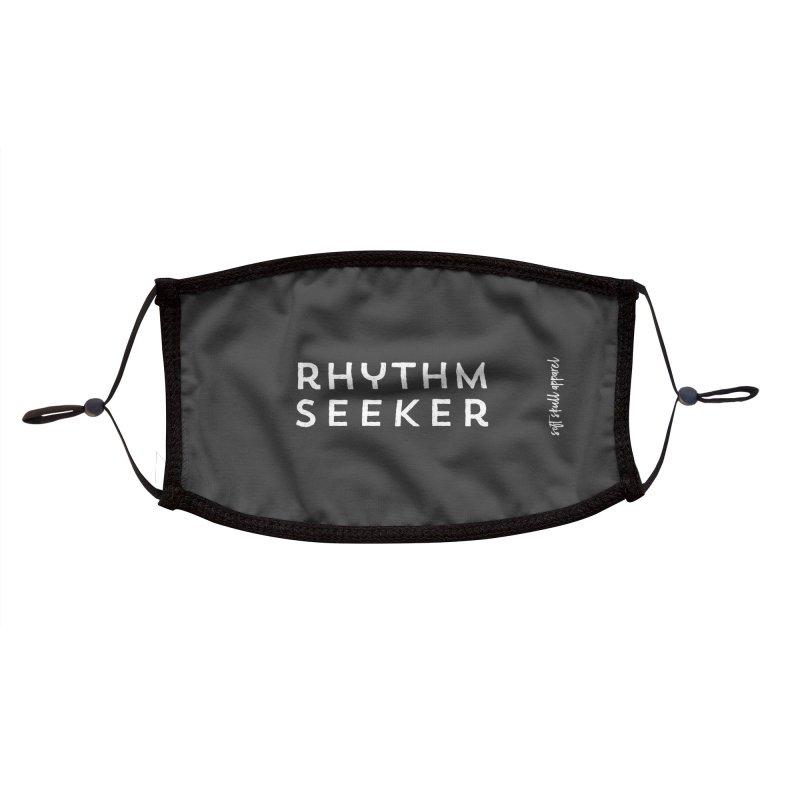 Rhythm Seeker Accessories Face Mask by iamthepod's Artist Shop