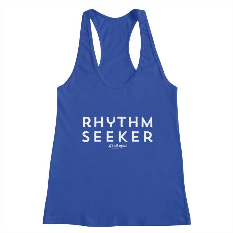 Rhythm Seeker Women's Racerback Tank by iamthepod's Artist Shop
