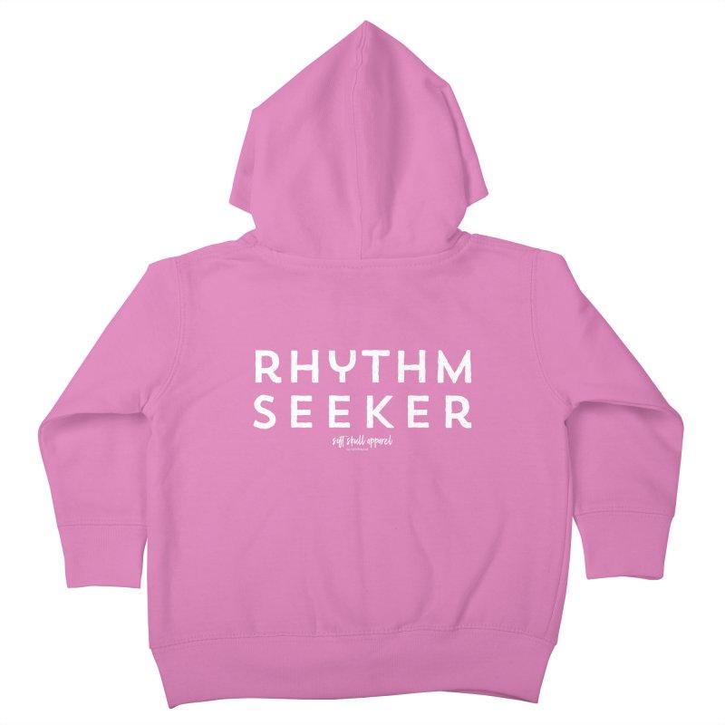 Rhythm Seeker Kids Toddler Zip-Up Hoody by iamthepod's Artist Shop