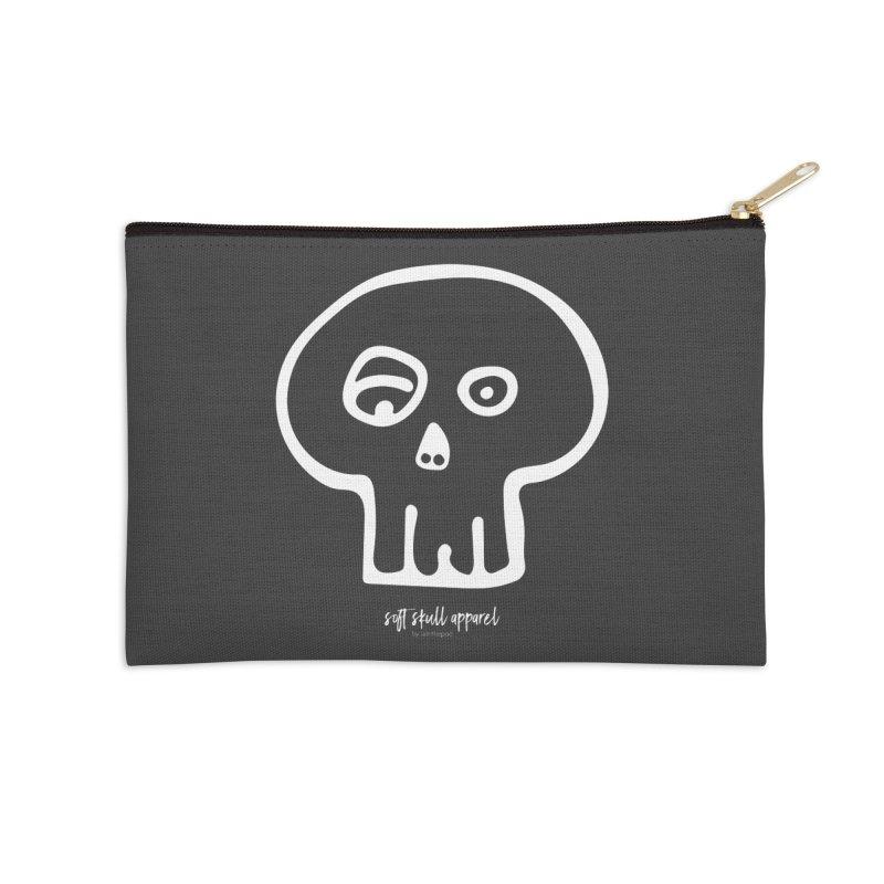 Soft Skull Accessories Zip Pouch by iamthepod's Artist Shop