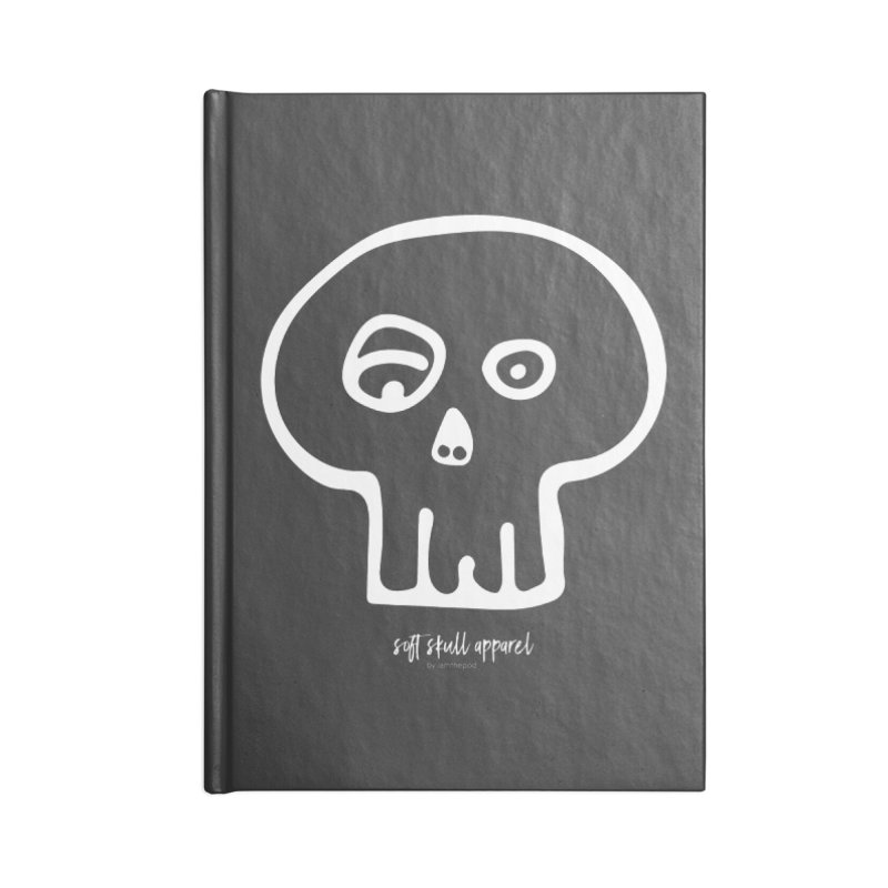 Soft Skull Accessories Lined Journal Notebook by iamthepod's Artist Shop