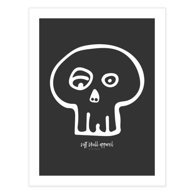 Soft Skull Home Fine Art Print by iamthepod's Artist Shop
