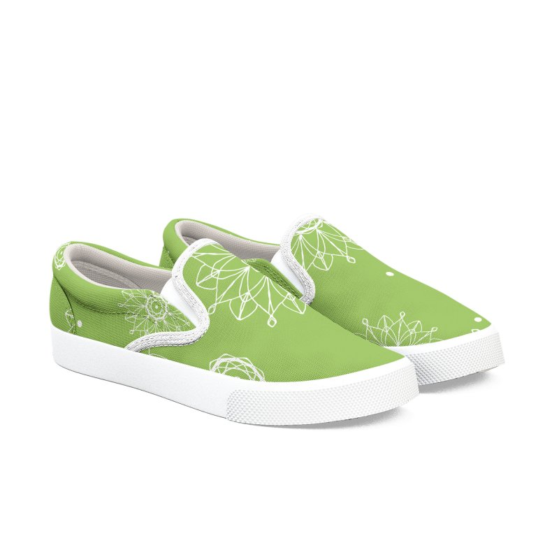 Bloom ONE Men's Slip-On Shoes by iamthepod's Artist Shop