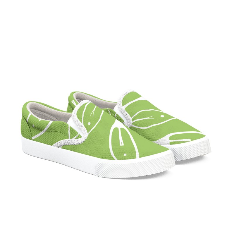 In Bloom 01 Men's Slip-On Shoes by iamthepod's Artist Shop