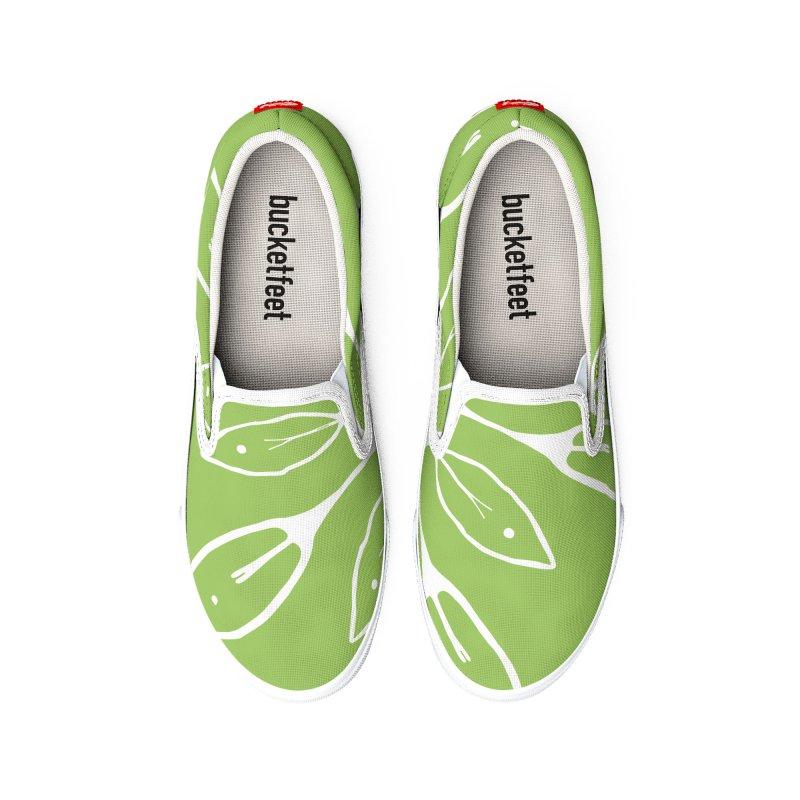 In Bloom 01 Men's Shoes by iamthepod's Artist Shop