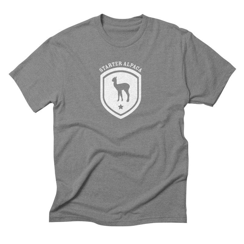 Starter Alpaca One Men's T-Shirt by iamthepod's Artist Shop