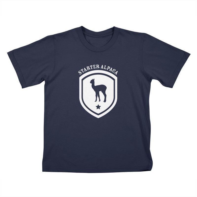 Starter Alpaca One Kids T-Shirt by iamthepod's Artist Shop