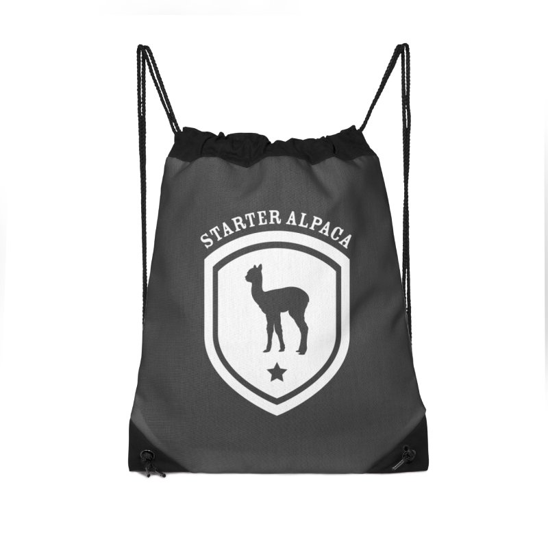 Starter Alpaca One Accessories Bag by iamthepod's Artist Shop