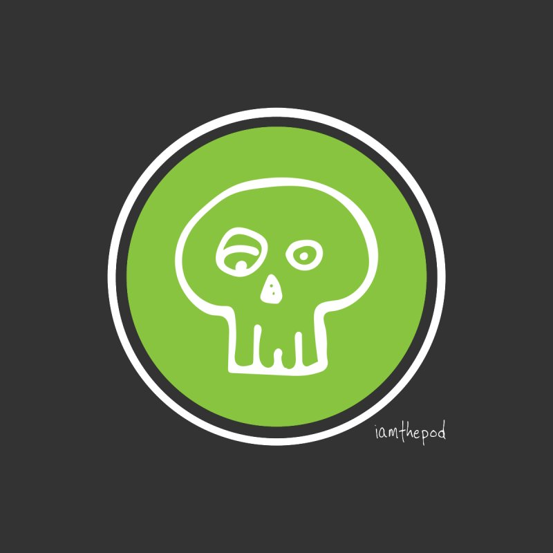Soft Skull Racing Circle by iamthepod's Artist Shop