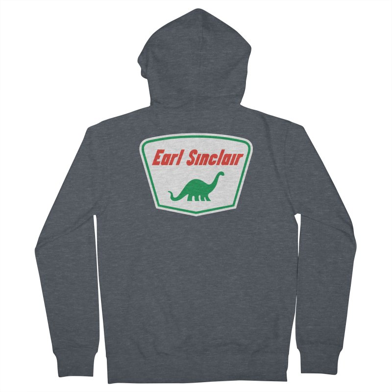 The Mighty Megalosaurus Men's French Terry Zip-Up Hoody by Ian Glaubinger on Threadless!