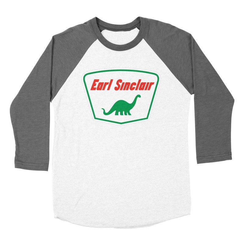The Mighty Megalosaurus Women's Baseball Triblend Longsleeve T-Shirt by Ian Glaubinger on Threadless!