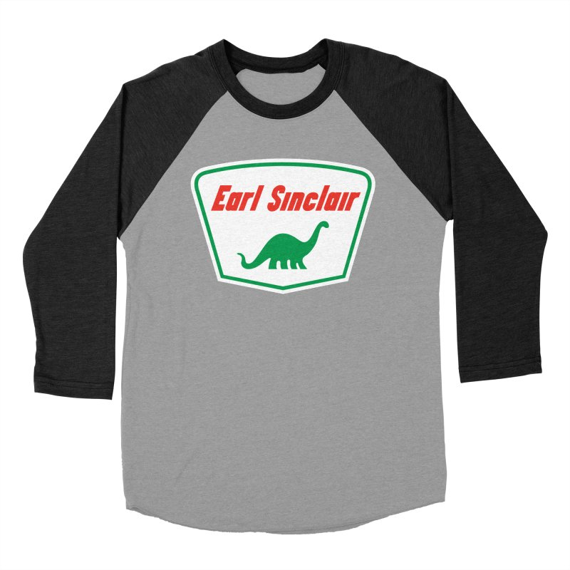 The Mighty Megalosaurus Men's Baseball Triblend Longsleeve T-Shirt by Ian Glaubinger on Threadless!