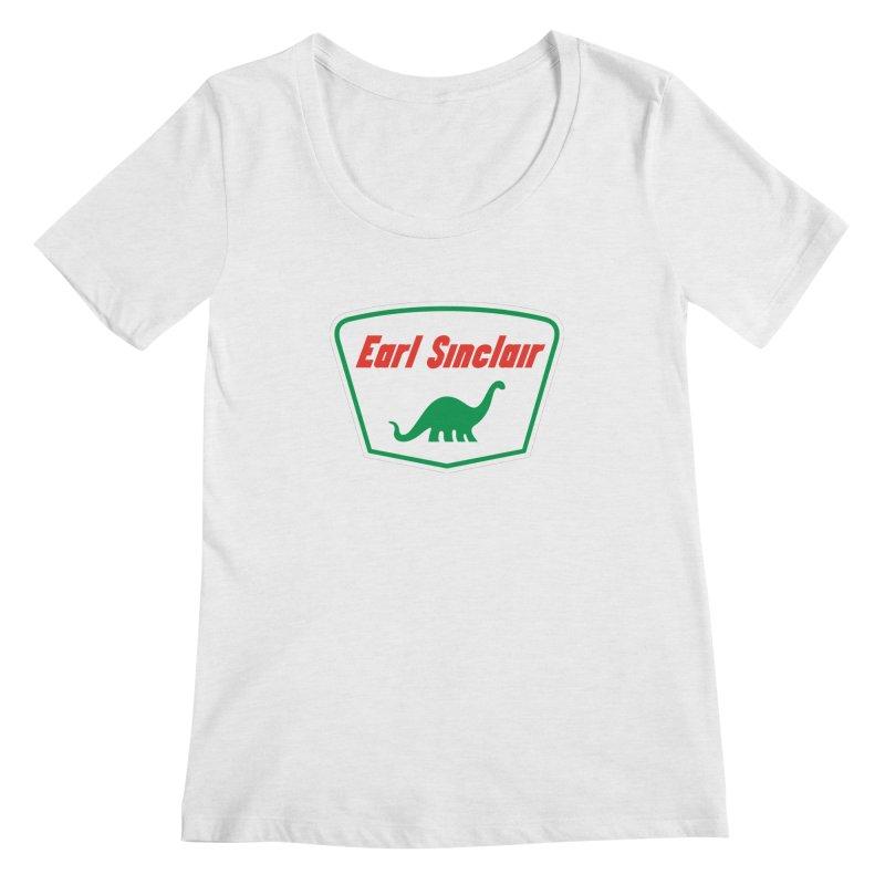 The Mighty Megalosaurus Women's Regular Scoop Neck by Ian Glaubinger on Threadless!
