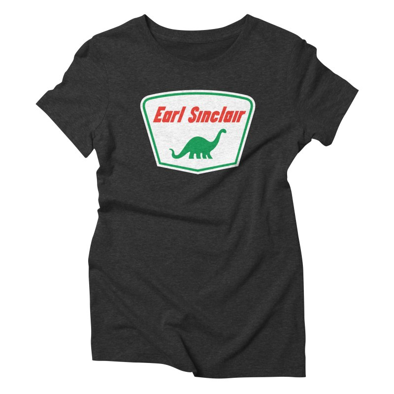 The Mighty Megalosaurus Women's Triblend T-Shirt by Ian Glaubinger on Threadless!