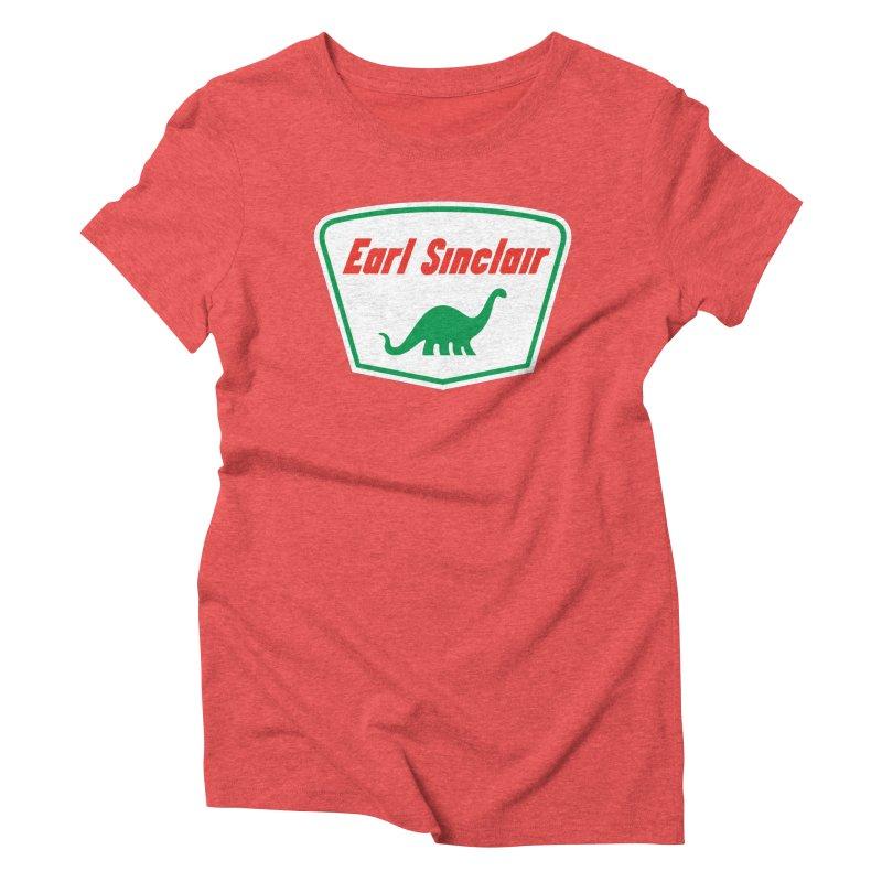The Mighty Megalosaurus Women's Triblend T-Shirt by Ian Glaubinger on Threadless!